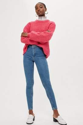 Topshop PETITE Winter Bleach Joni Jeans