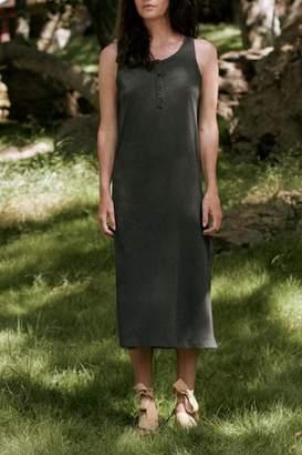 The Great Slim Henley Tank Dress