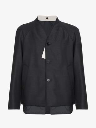 Jil Sander Wool collarless jacket
