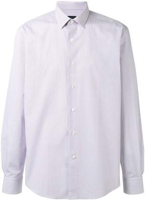 Lanvin micro checked shirt