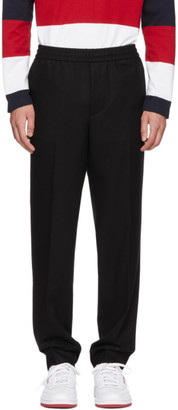 Moncler Black Wool Trousers