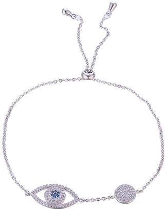 Eye Candy Los Angeles Eye Candy La Evil Eye Cz Crystal Adjustable Bracelet