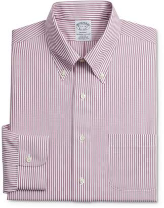 Brooks Brothers Bengal Stripe Classic Fit Button-Down Shirt