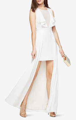 BCBGMAXAZRIA Tanika High-Low Gown