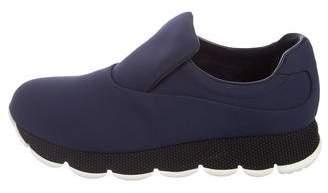 Prada Sport Neoprene Slip-On Sneakers