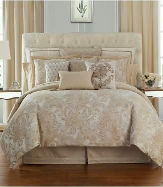 Waterford Annalise Reversible Comforter, Sham & Bed Skirt Set