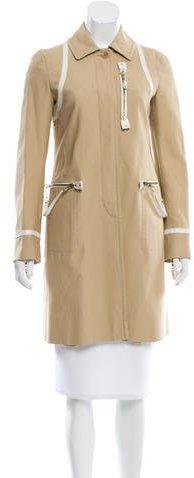 MoschinoMoschino Knee-Length Contrast Coat