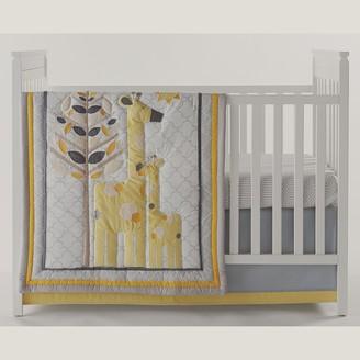 Jonathan Adler Safari Giraffe 4-pc. Crib Bedding Set
