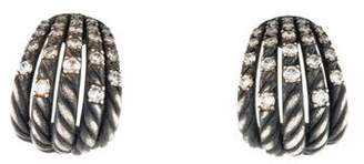 David Yurman Diamond Tempo Earrings