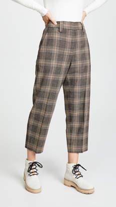 Acne Studios Printed Trousers