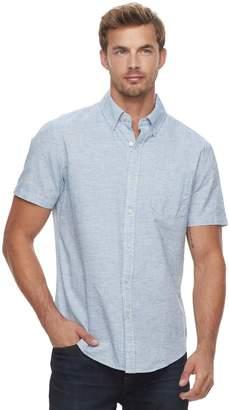 Sonoma Goods For Life Men's SONOMA Goods for Life Modern-Fit Linen-Blend Button-Down Shirt