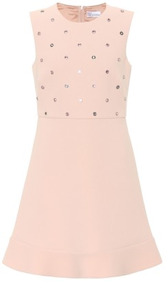 d6ed8323 RED Valentino Sequin-embellished minidress