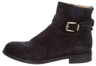 Del Toro Suede Ankle Boots
