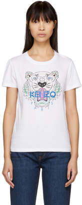 Kenzo White Tiger Classic T-Shirt