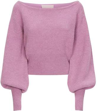 Keepsake The Label Like This Off-The-Shoulder Sweater