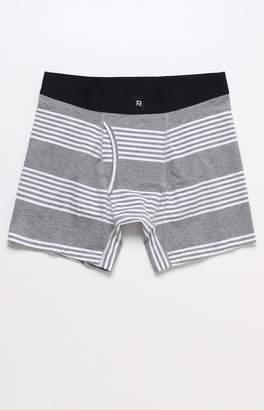 Richer Poorer Thurston Grey and White Striped Boxer Briefs