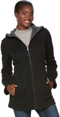 Women's Sebby Collection Long Fleece Jacket