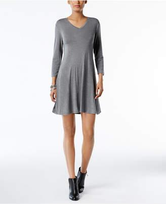 Style&Co. Style & Co V-Neck Swing Dress