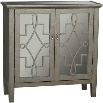 Pulaski Frome Mirrored 2-Door Accent Cabinet