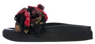 Simone Rocha Ruffled Slide Sandals