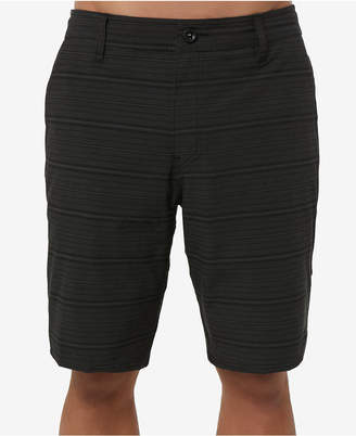 O'Neill Men's Locked Stripe Hybrid Shorts
