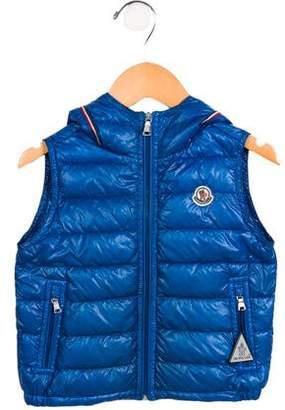 Moncler Boys' Patrick Gilet Down Vest