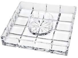Godinger Crystal Server and Bowl- Set of 2