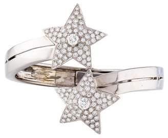 18K Diamond Star Bracelet