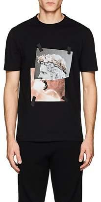 """Neil Barrett Men's """"Roman Lion"""" Cotton Jersey T-Shirt"""