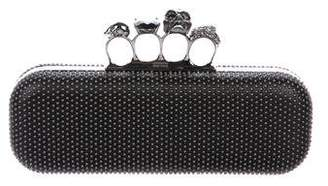 Alexander McQueen Studded Knuckle Duster Clutch
