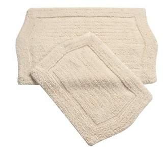 Waterford Home Weavers Inc 2 PIECE BATH RUG SET 21X34 24X40 NATURAL