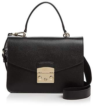 Furla Metropolis Top Handle Small Leather Satchel