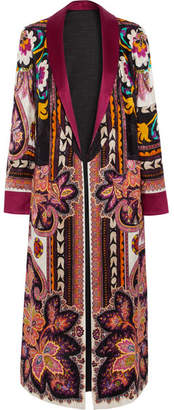 Etro - Reversible Printed Satin-jacquard Jacket - Red $3,340 thestylecure.com