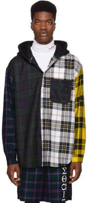 Alexander Wang Muticolor Plaid Overshirt