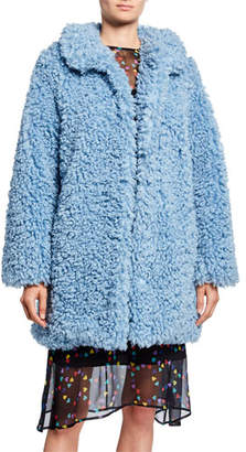 HVN Courtney Faux-Fur Coat