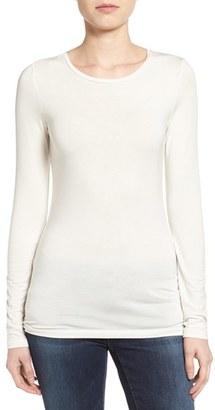 Petite Women's Halogen Long Sleeve Modal Blend Tee $39 thestylecure.com