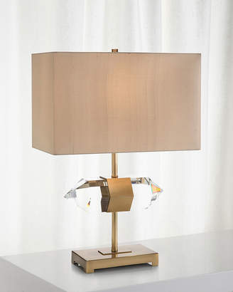 John-Richard Collection Mounted Crystal Accent Lamp
