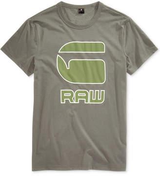 G Star Men's Cadulor Graphic-Print Cotton T-Shirt