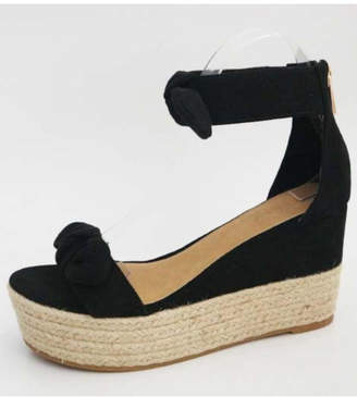 Bamboo Double Bow Espadrille