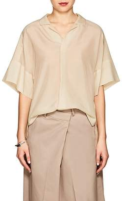 08sircus Women's Tech-Voile Relaxed Shirt