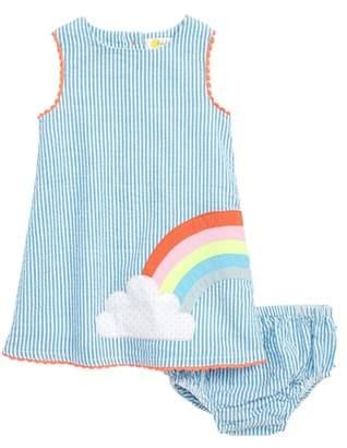 Boden Mini High Summer Woven Lace Dress