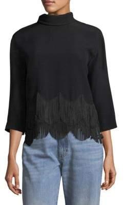 Marc Jacobs Mockneck Tassel Sweater