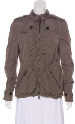 Burberry Structured Zip-Up Jacket Structured Zip-Up Jacket