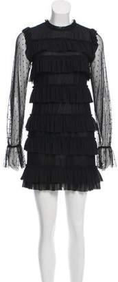 Rebecca Minkoff Ruffled Mini Dress
