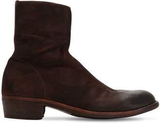 Officine Creative Ponti 001 Reversed Leather Boots