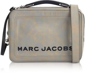 Marc Jacobs The Box Top Handle Leather Squared Satchel Bag