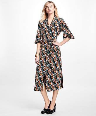 Silk Crepe Twirl Dress $598 thestylecure.com