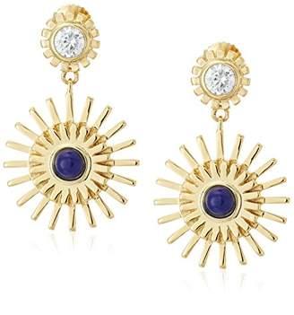 Jules Smith Designs Starburst Drop Stud Earrings