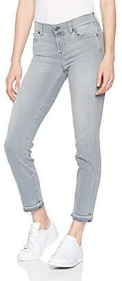 7 For All Mankind Seven International SAGL Women's Mid Rise Roxanne Crop Unrolled Slim Jeans,W26/L28 (Manufacturer Size: 26)