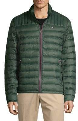 Tommy Hilfiger Zip-Up Down Jacket